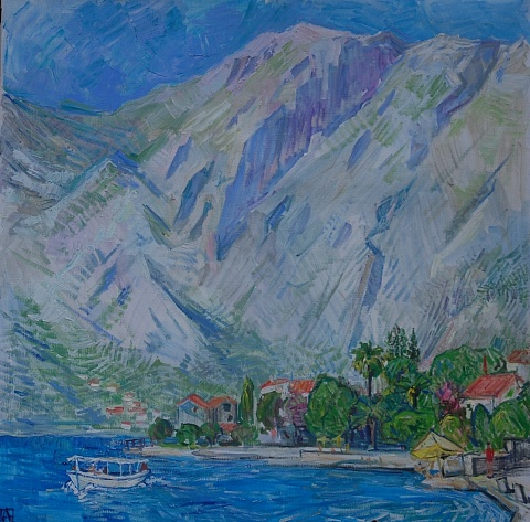 Montenegrin afternoon. Part of the triptych 3