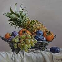 Fruit in a vase