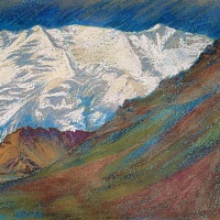 Lenin's peak (the Pamirs)