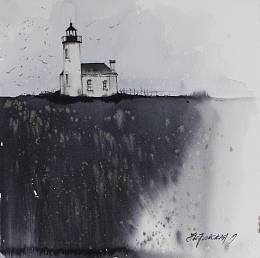 Lighthouse on the cliff