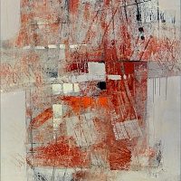 abstraction in red I