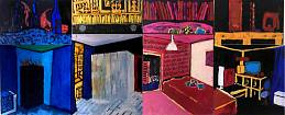 Room (Polyptych of eight parts)