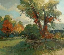 Autumn in the village
