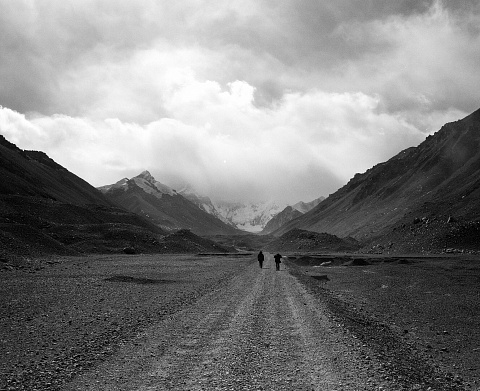 The Road To Mount Everest' - Tibet