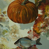 Crucian and pumpkin (Meeting)