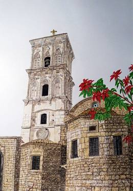 Cyprus, Larnaka. St. Lazarus Church