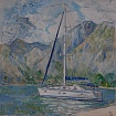 Kotor. Montenegrin afternoon. Part of the triptych 1
