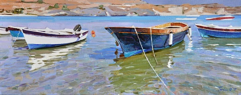 Boats of Lindos
