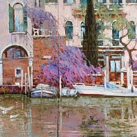 Venice. The Grand canal. Diptych