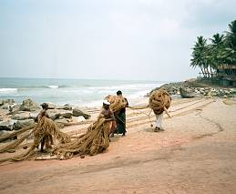 'Fisherman at Varkala' - India