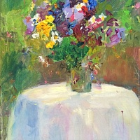 Wildflowers Bouquet in the French Vase