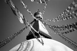 Prayer Flags From Stupa' - Nepal