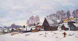 Winter in Myshkin